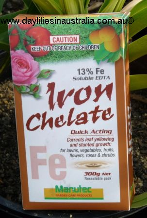 Daylilies in Australia What is Chelated Fertiliser | Chelated