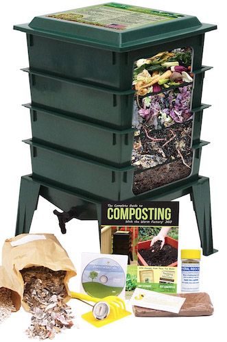 Simple Set Up Worm Bin – Worm Castings