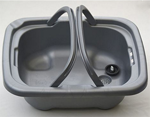 Hughie removable sink collects wasted grey water
