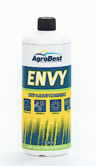 Envy protects plants against frost moisture loss sunburn and windburn