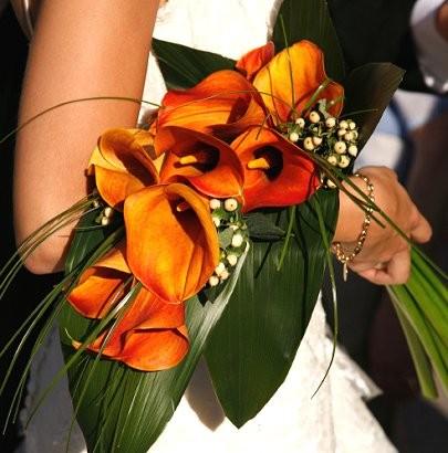 Calla Lilies as a bridal bouquet