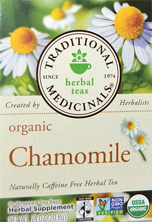 Traditional Medicinals Herbal Teas Organic Chamomile