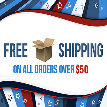 Free Postage Orders Over $50