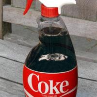 Using Coke In The Garden