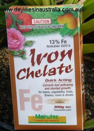 A brand of Chelated Fertiliser in its packet
