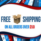 Free shipping over $50 Australia wide banner